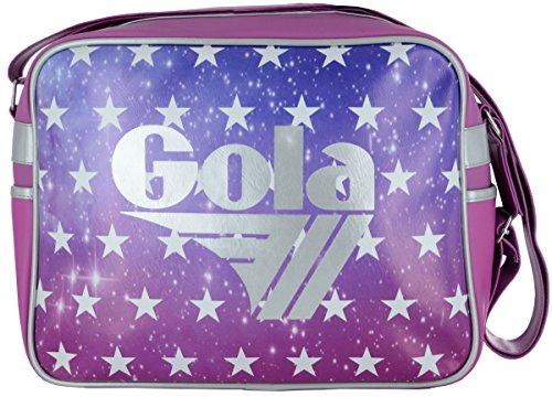 Gola, Damen Umhängetasche REDFORD GALAXY STARS PINK + PORTAFOGLIO