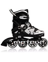 METEOR® SKY Inline Skates | Kinder | Damen | Herren | Größenverstellbar | 30-33 / 34-37 / 38-41 | ABEC7