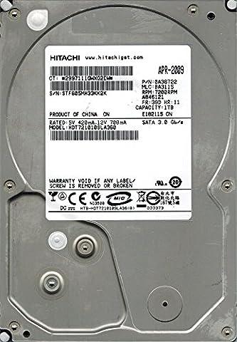 Hitachi HDT721010SLA360P/N: 0a38722MLC: ba31151TB