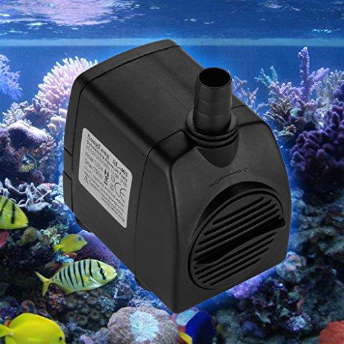 Aquarium Pumpe Wasserpumpe Aquarienpumpe Förderpumpe Zimmerbrunnen Aquarium Wasserpumpe Tauchpumpe 800L/H 210GPH -