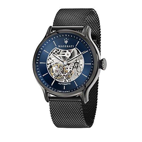 MASERATI Orologio Analogico Automatico Uomo con Cinturino in Acciaio Inox R8823118006
