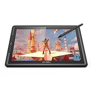 XP-Pen Artist 16 Pro Tablette Graphique avec Ecran HD Huit Raccourcis Stylet Rechargeable Niveaux 8192 Convenable pour Droitiers et Gauchers