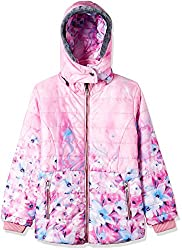 Fort Collins Girls Regular Fit Synthetic Jacket (69153_Pink_26 (6 - 7 years))