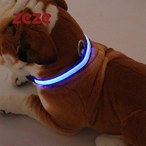 Leuchtende Hund Heimtierbedarf Katze Halsbänder dauerhaft hohen Qualität (Halloween Das Kostüm Tick)
