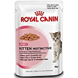 Royal Canin Kitten Instinctive Cat Wet Food Loaf Flavor 85 Gm Pouches (Pack Of 12)