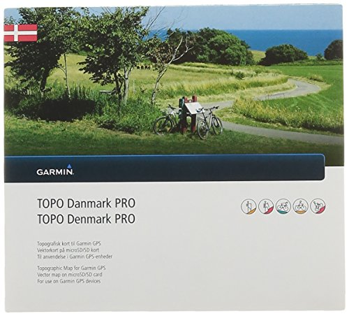 Garmin Karte Topo Dänemark Pro, 010-11836-01 - Bathymetrische Karte