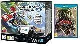 Pack Nintendo Wii U 32Go + Mario Kart 8 (préinstallé) + The Legend of Zelda Twilight Princess HD