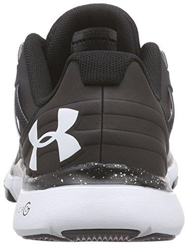 Under Armour Ua W Micro G Limitless Tr, Chaussures de Fitness Femme Noir (BLK/WHT/WHT 1)