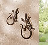 "Metall-Deko ""Gecko"""