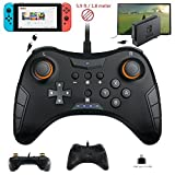 WHITEOAK Switch Pro Controller, USB verkabelt Gaming Gamepad Joystick für Nintendo Switch, Steam, PC (Windows XP / 7/8/10), PS3, Android