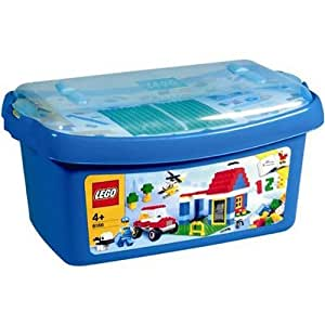 lego jeu de construction grande bo te de briques jeux et jouets. Black Bedroom Furniture Sets. Home Design Ideas