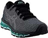 ASICS T889N Women's Gel-Quantum 360 Shift MX Running Shoe, Carbon/Black/Aruba Blue - 6