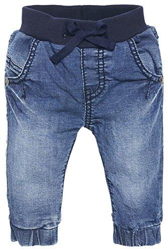 Noppies Unisex - Baby Jeans U Comfort, Einfarbig, Gr. 50, Blau (Stone Wash C295)