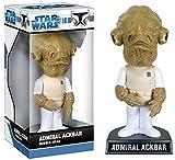 Star Wars Wackelkopf-Figur Admiral Ackbar 18 cm