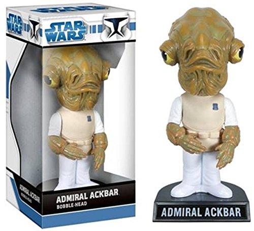 Star Wars Wackelkopf-Figur Admiral Ackbar 18 cm (Wackelkopffigur Star Wars)