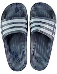 0e8a47cc805 adidas Unisex Adult Duramo Slide Open Toe Sandals