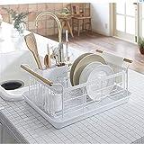 Matériau respectueux de l'environnement Égouttoir à vaisselle en fer forgé égouttoir à vaisselle étagères à vaisselle