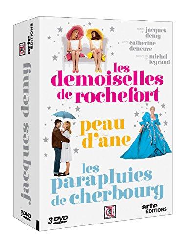 Jacques Demy : Les demoiselles de Rochefort + Peau d'Âne + Les parapluies de Cherbourg