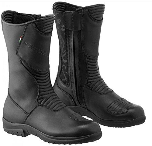 Stivale di moto in pelle Gaerne Black Rosa Womens Boots Taglia 37Colore Nero nov