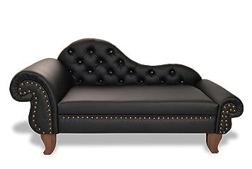 Recamiere biedermeier  Hundesofa PARIS Recamiere Chesterfield XXL Hundebett Couch ...