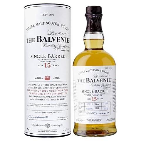 Balvenie 15 Jahre Alt Einzel Zylinder Whisky 70 cl