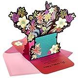 Hallmark Pop Up Muttertagskarte aus Mahagoni von Sohn oder Tochter (leistungsstarkes Geschenk)