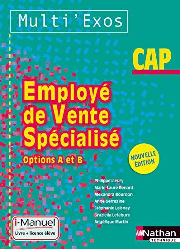 Employé de vente spécialisé - Options A et B