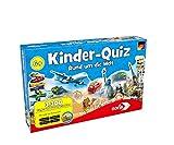 Noris 606011630 606011630-Kinderquiz Rund um die Welt, Quizspiel