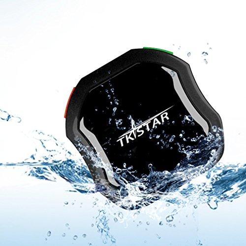 LESHP Mini Wasserdicht Tracking-Gerät mit Long Standby GPS Tracker, Finden Sie Kinder / Olds / Haustiere / Autos