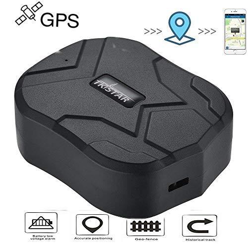 Hangang Localizador GPS para Coche Seguimiento en Tiempo Real Posicionamiento Preciso Monitor...