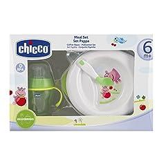 Idea Regalo - Chicco, Set da regalo per la pappa dle bambino, 6 mesi+, Multicolore (Mehrfahrbig)
