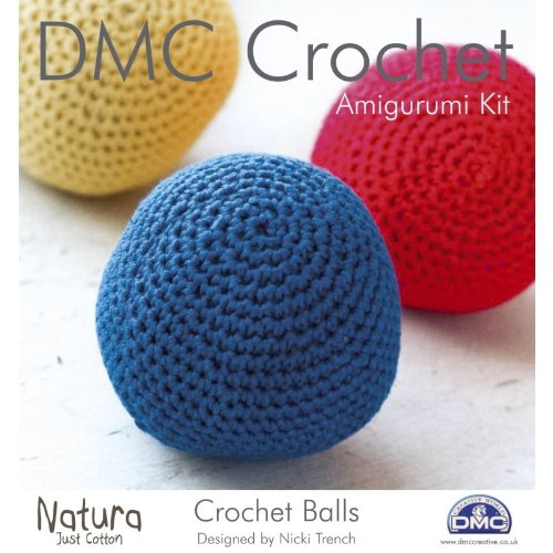 DMC - Kit per creare sfere decorative all'uncinetto, multicolore - All'uncinetto Palle