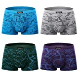 Best Mens Underwears - wirarpa Mens Underwear Trunks 4 Pack Micro Modal Review