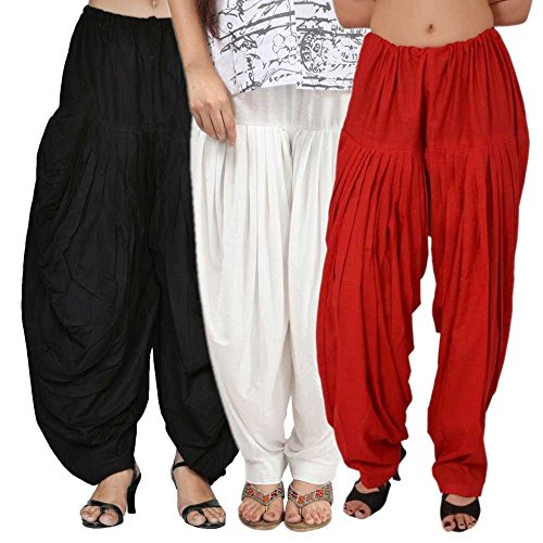 Rooliums Women's Cotton Salwar Combo Pack (HRSALBWR _Multicolor_)