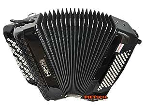 Pigini accordéon studio b-griff, b2, russe system