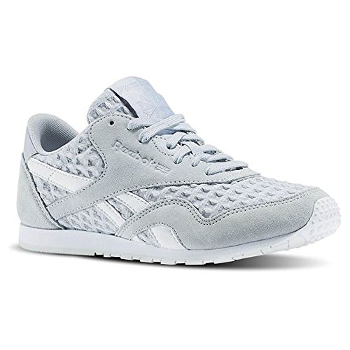 Reebok Damen Schuhe / Sneaker CL Nylon Slim Architect Grau (cloud grey/white)