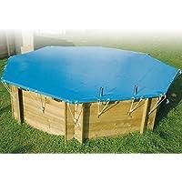 Copertura Invernale di sicurezza per piscine in legno ottagonali 430
