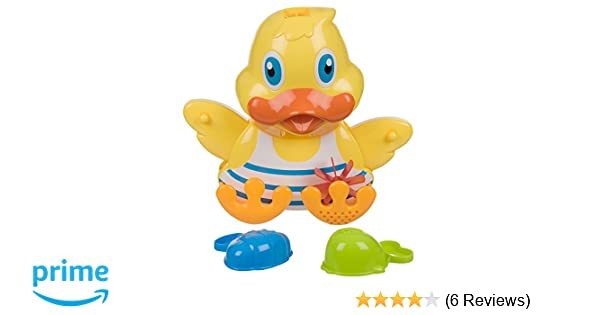 Invero® Early Developmental Bath Time Duck Game Toy Play Set Ideal for all Babies Toddlers and Kids Invero®