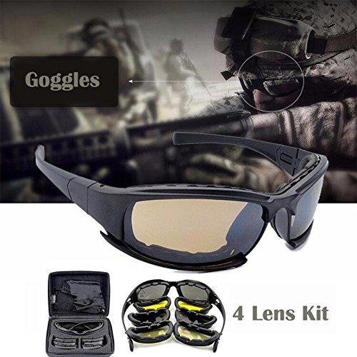 cozywind Motorradbrille Bikerbrille Sonnenbrille UV-Winddicht Sport Schutzbrille Augenschutz