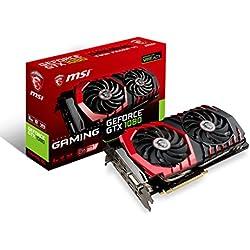 MSI GeForce GTX 1080 GAMING 8GB - Graphics Cards (GeForce GTX 1080, 8 GB, GDDR5X, 256 bit, 7680 x 4320 pixels, PCI Express x16 3.0)