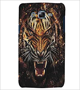 SAMSUNG GALAXY J5 ANGRY TIGER Designer Back Cover Case By PRINTSWAG