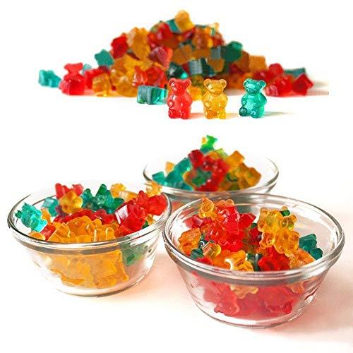 ZT TRADE Eiswürfelformen Zuckerform Gummibärchenformen Süßigkeiten Formen Silikon Handgemachte Schokoladenform Bärenformen Süße Schimmel DIY -