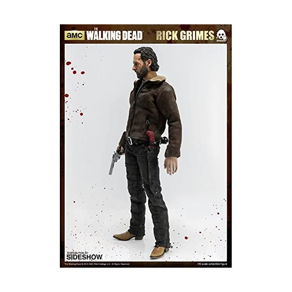threeA SS902581 ThreeZero 1:6 Rick Grimes Figura - The Walking Dead 6