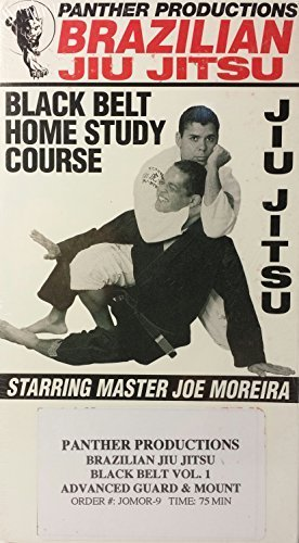 Brazilian Jiu Jitsu VHS: Tape 9. Black Belt Vol. 1-intermediate Guard and Mount groundfighting Technische Starring Joe Moreira by Panther PRODUCTIONS -