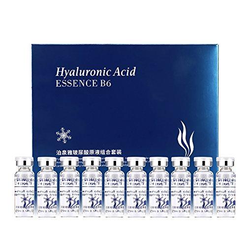 Hyaluronsäure Serum Kit 10 Flaschen Gesicht Toner Essence Toner Deep Hydrating (Kit Hydrating)