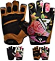 RDX Fitness Handschuhe Damen Trainingshandschuhe Frauen Crossfit Handgelenkstütze Sporthandschuhe Gewichtheben krafttraining workout Bodybuilding Gym Gloves von RDX