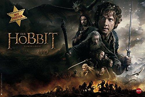 Der Hobbit Broschur XL - Kalender 2019 -