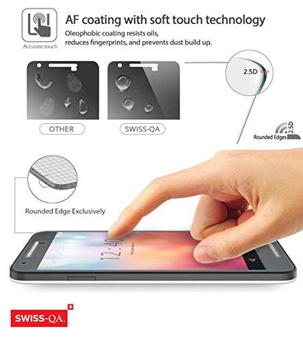 iPhone 6 Cover Case Protettiva - Trasparente - Azzurro - SILICONE - TPU - antiurto, Antigraffio - By SWISS-QA (iPhone 6 6S 4.7) Cover & Vetro Temperato - SILICONE - Porta Carte Di Credito