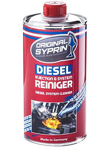 SYPRIN Original Diesel Reiniger Diesel-Additiv System-Reiniger Einspritzdüsen-Reiniger Injektor-Reiniger Diesel-Reinigung Dieselmotoren 500 ml (Reinigungs-system)