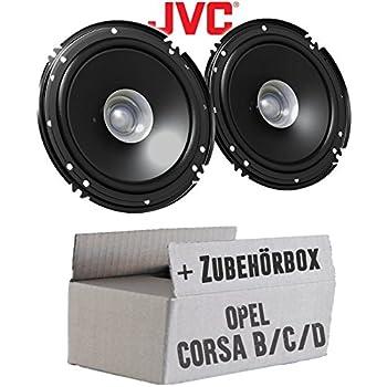 Ground Zero Lautsprecher 165mm Kompo Boxen für Opel Corsa E ab 14 Front